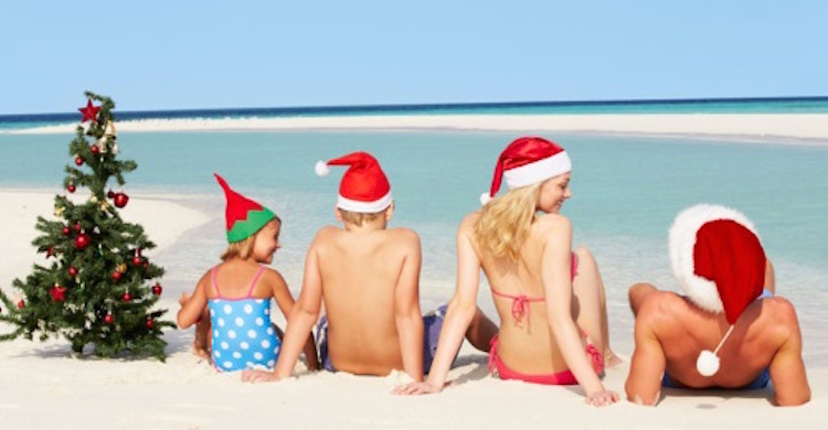sun holiday chritmas